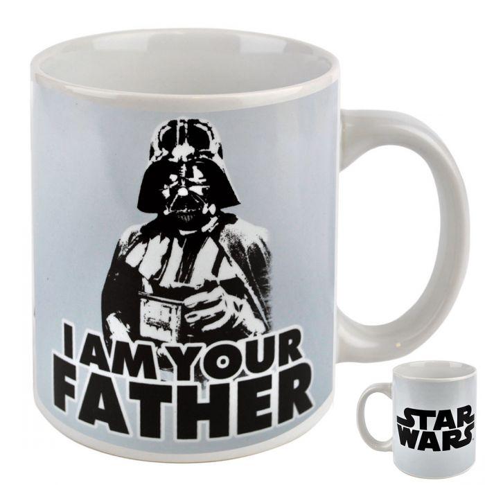 mug dark vador i am your father star wars super insolite. Black Bedroom Furniture Sets. Home Design Ideas