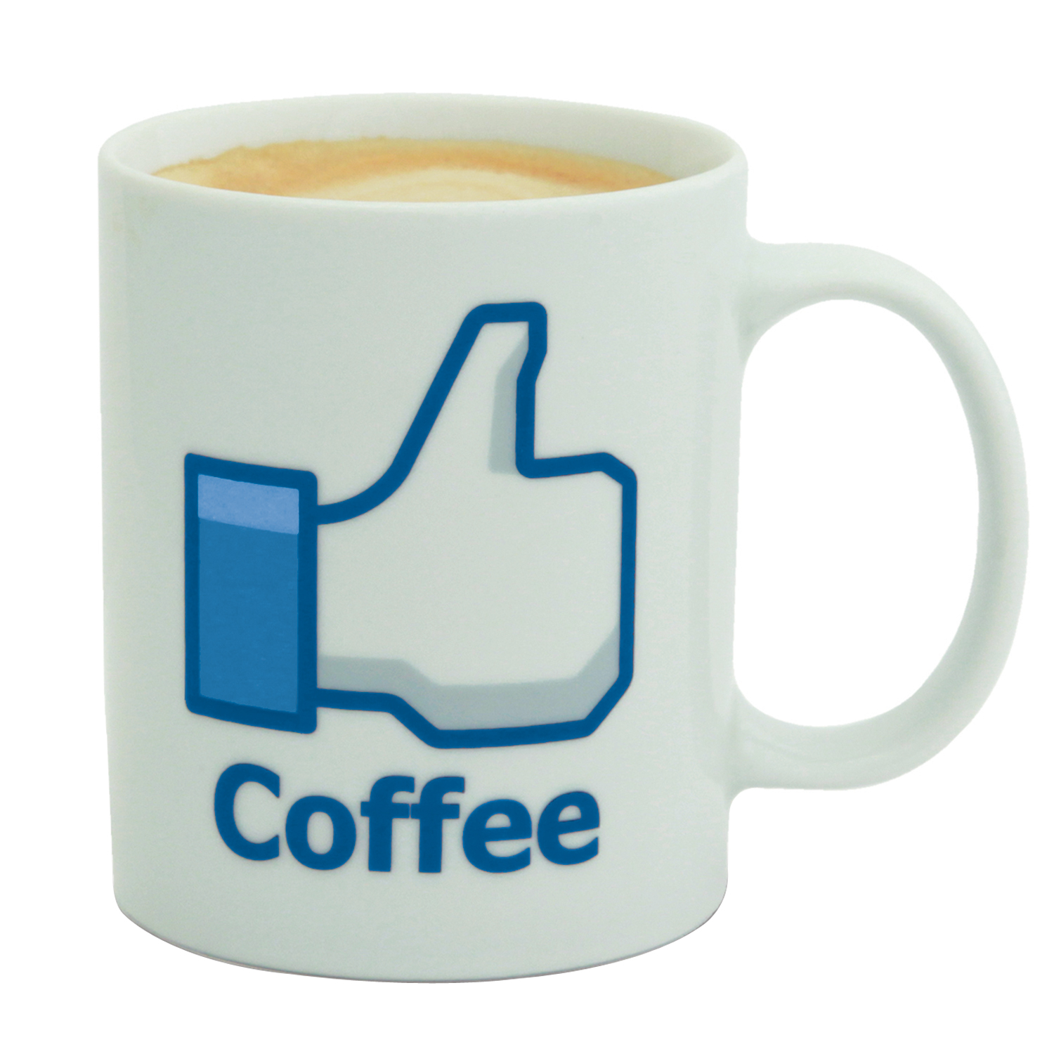 mug like facebook caf le mug facebook coffe pour les fans de facebook super insolite. Black Bedroom Furniture Sets. Home Design Ideas