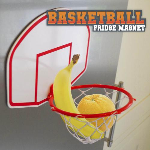 panier de basket magnet pour frigo pense b te et corbeille pour les fans de basket la. Black Bedroom Furniture Sets. Home Design Ideas