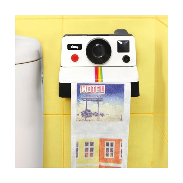 papier toilette photo polaroid insolite super insolite. Black Bedroom Furniture Sets. Home Design Ideas