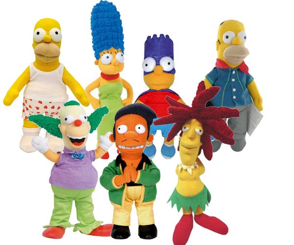 peluche Simpsons