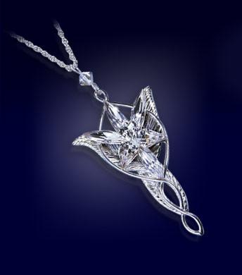 pendentif étoile du soir Seigneur des Anneaux