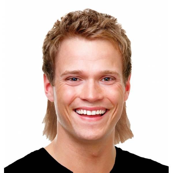 Perruque coupe mulet chatain et blond la coupe mulet for Mulet coupe de cheveux
