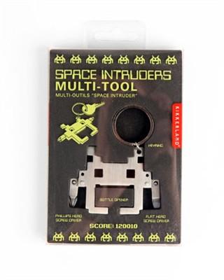 outil space invader multi fonctions porte cl s un cadeau pour geek bricoleur fan des space. Black Bedroom Furniture Sets. Home Design Ideas