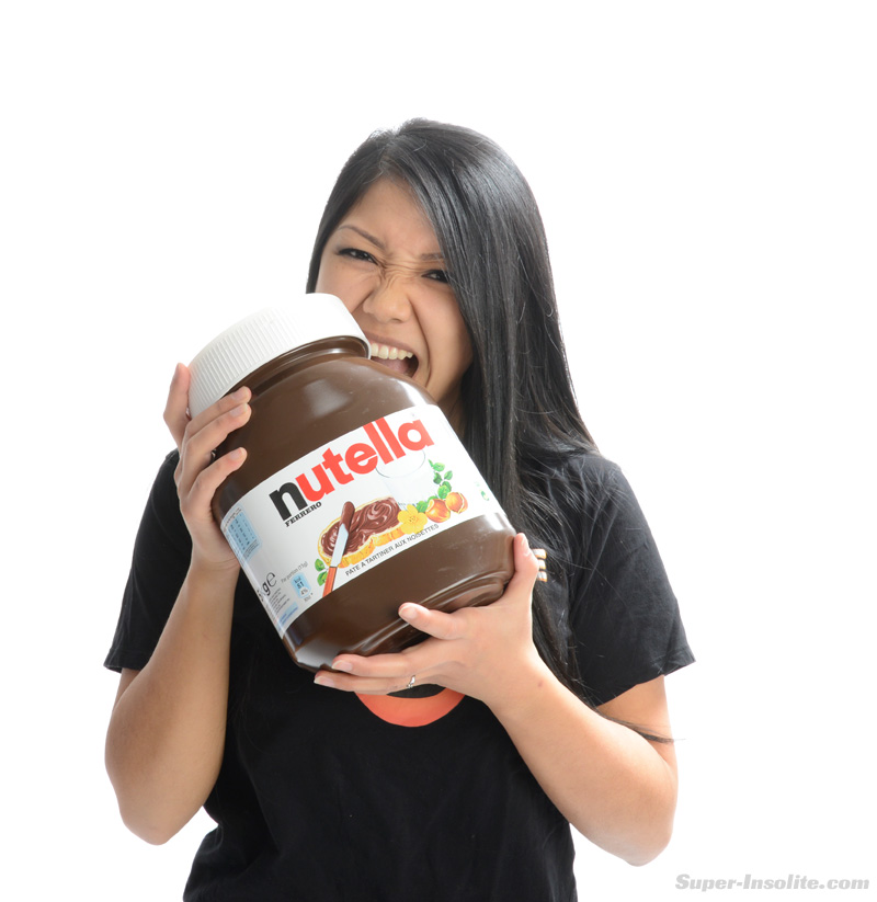Pot de Nutella Géant de 5 kg : un pot de Nutella Collector ...