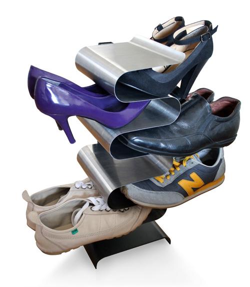 Range chaussures design super insolite - Rangement chaussures pratique ...