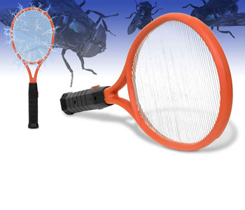 Raquette anti insectes et moustiques super insolite - Raquette anti moustique ...