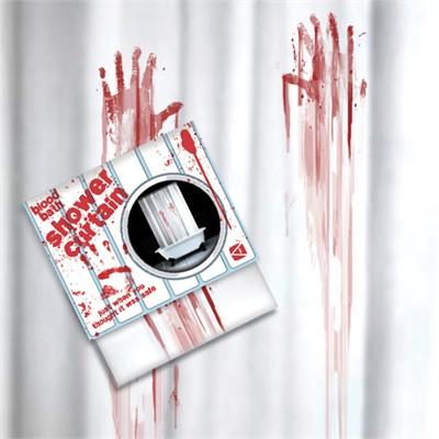 Rideau de douche sanglant crime super insolite - Rideau de douche insolite ...