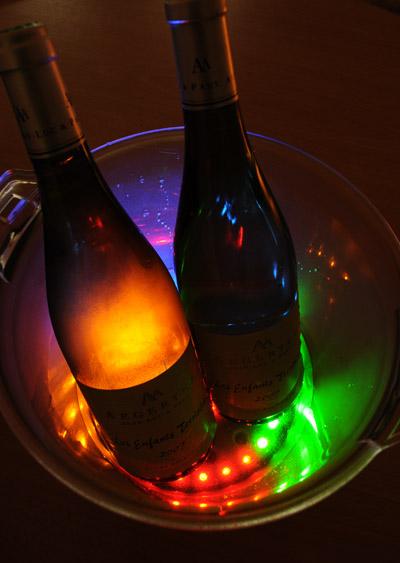 Seau champagne lumineux le seau glace lumineux - Seau a glace lumineux ...