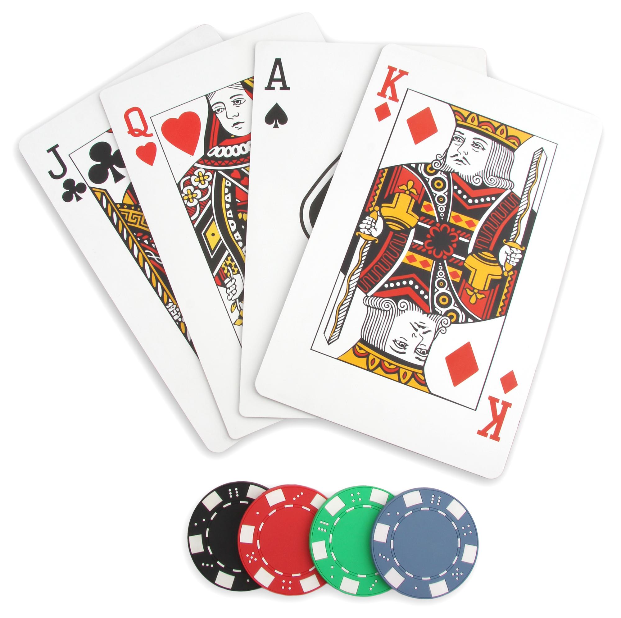 Set de table poker casino un d ner poker avec for Un set de table