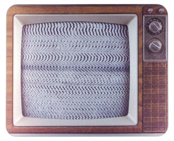 tapis de souris tv
