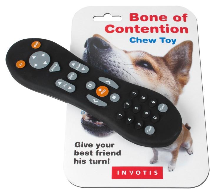 t l commande jouet pour chien la t l commande tv silicone pour votre chien super insolite. Black Bedroom Furniture Sets. Home Design Ideas