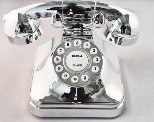 t l phone r tro gotham le t l phone fixe vintage super. Black Bedroom Furniture Sets. Home Design Ideas