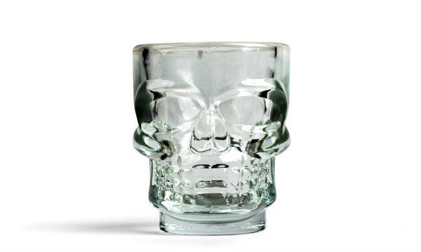 verre shooter tête de mort