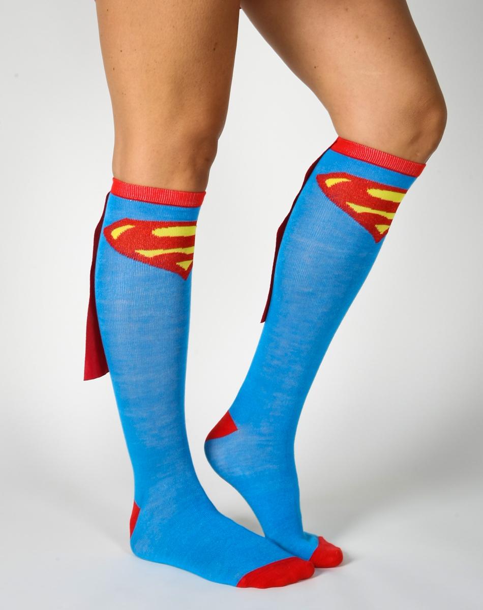 chaussettes-superman-cape-hautes