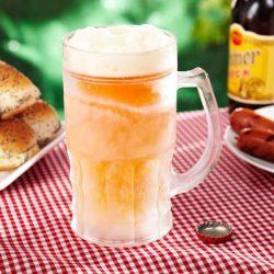 chope de bière réfrigérée