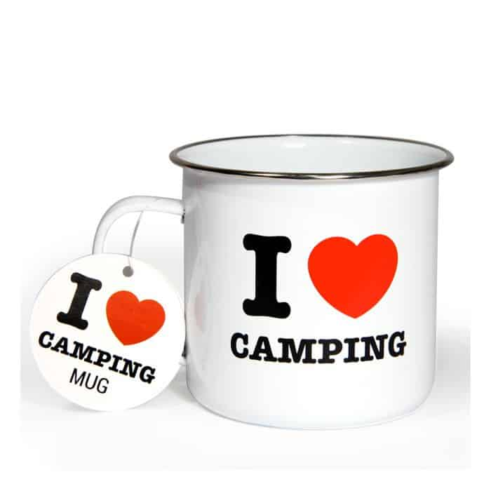 mug i love camping super insolite. Black Bedroom Furniture Sets. Home Design Ideas