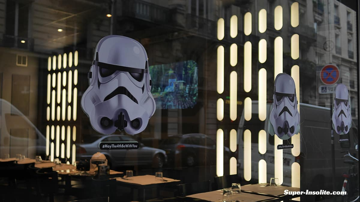 restaurant Star Wars Paris