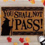 paillasson seigneur des anneaux you shall not pass