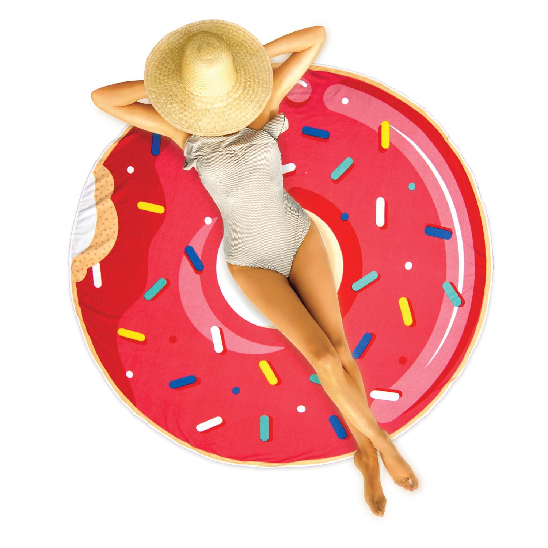 serviette de plage donut