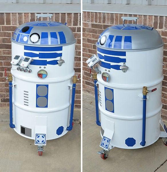 Barbecue R2-D2