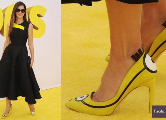 Sandra Bullock talons minion