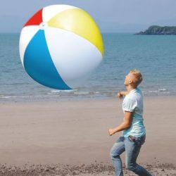 Ballon de plage géant