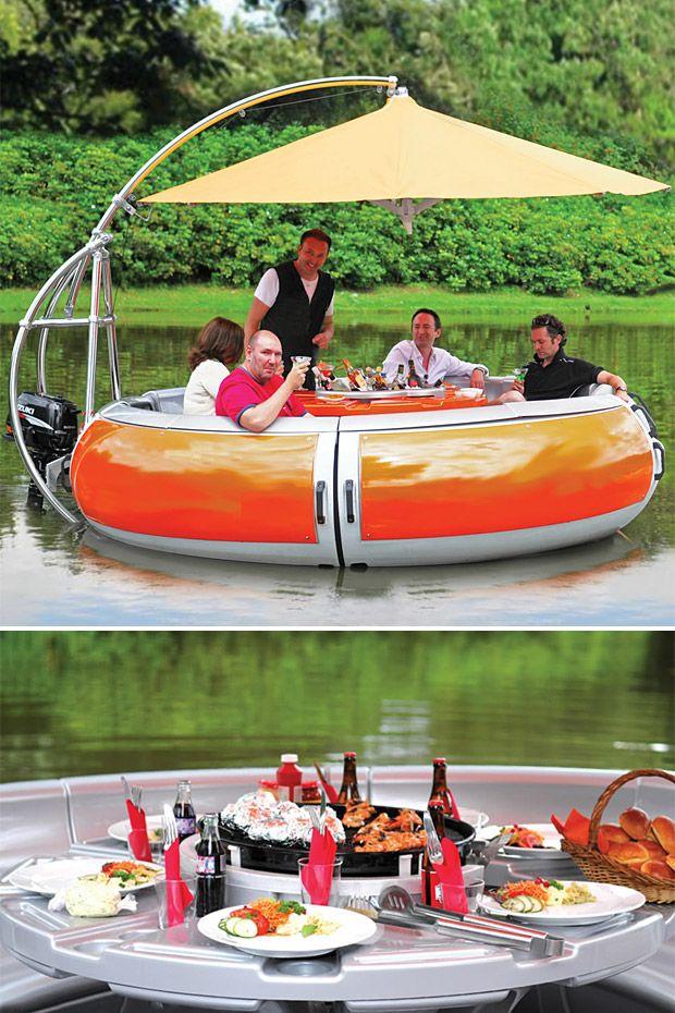 barbecue bateau