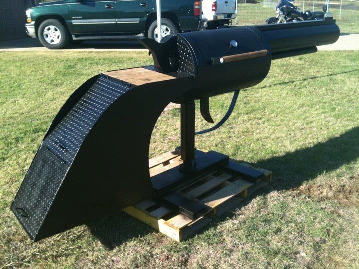barbecue pistolet