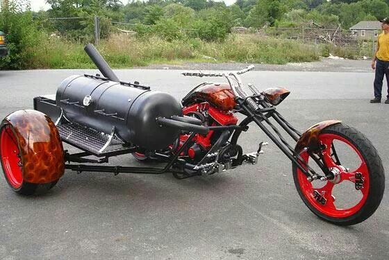 barbecue side car