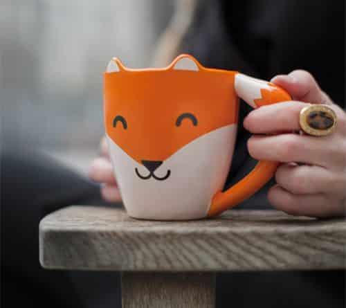 mug tasse renard fox