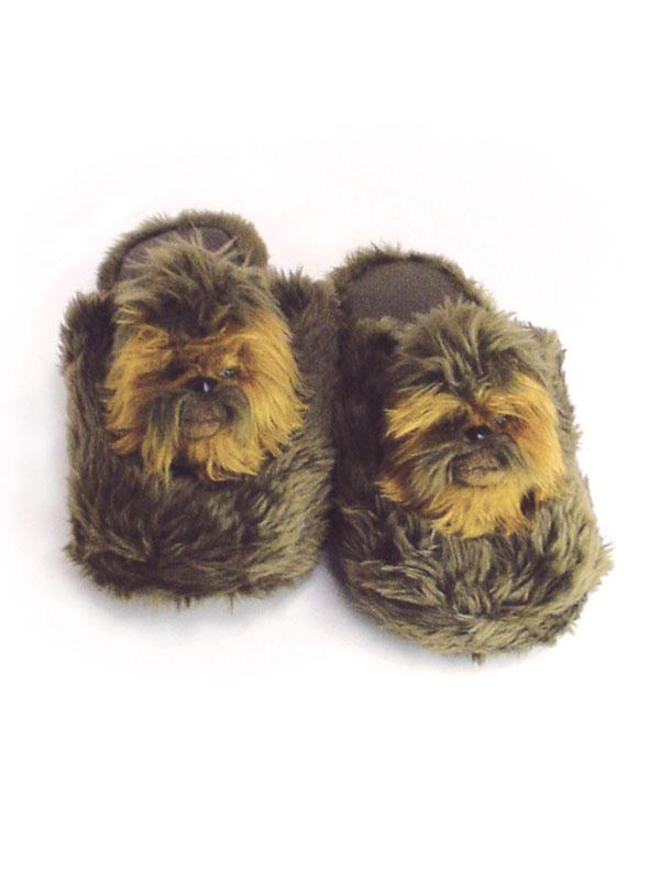 chaussons star wars chewbacca cadeau super insolite. Black Bedroom Furniture Sets. Home Design Ideas