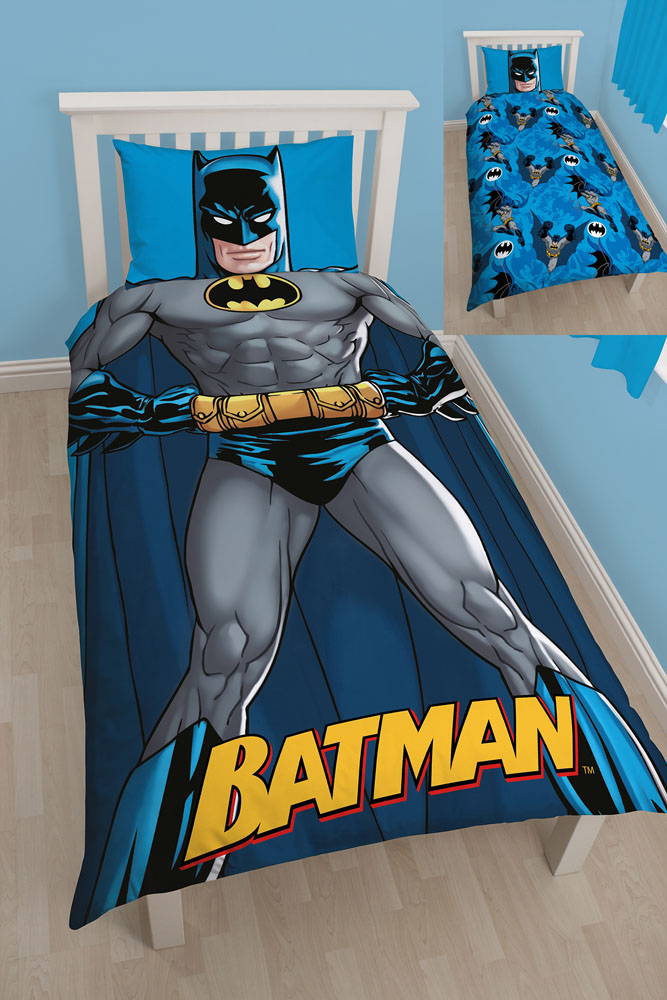 parure de lit batman cadeau enfant super insolite. Black Bedroom Furniture Sets. Home Design Ideas