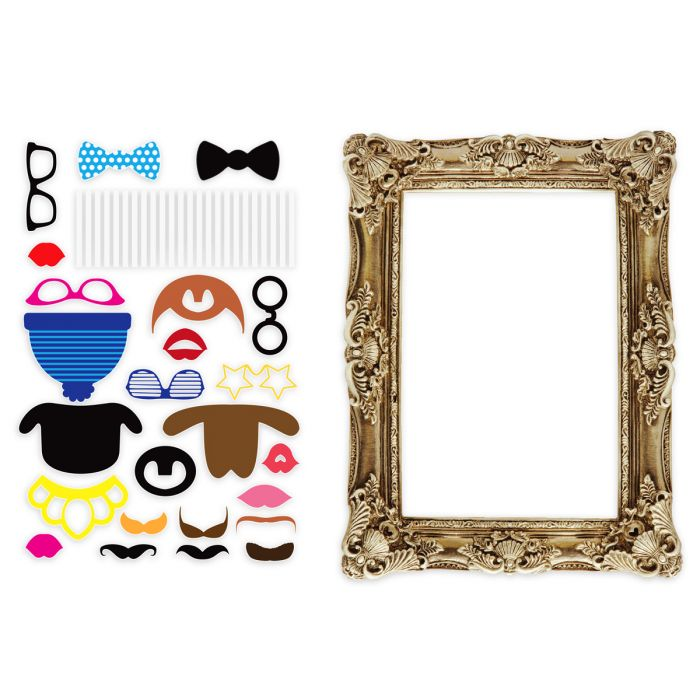 photo booth accessoires selber basteln