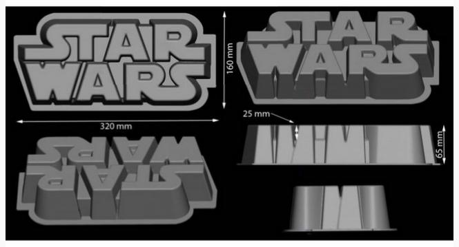 Moule Gateau Star Wars
