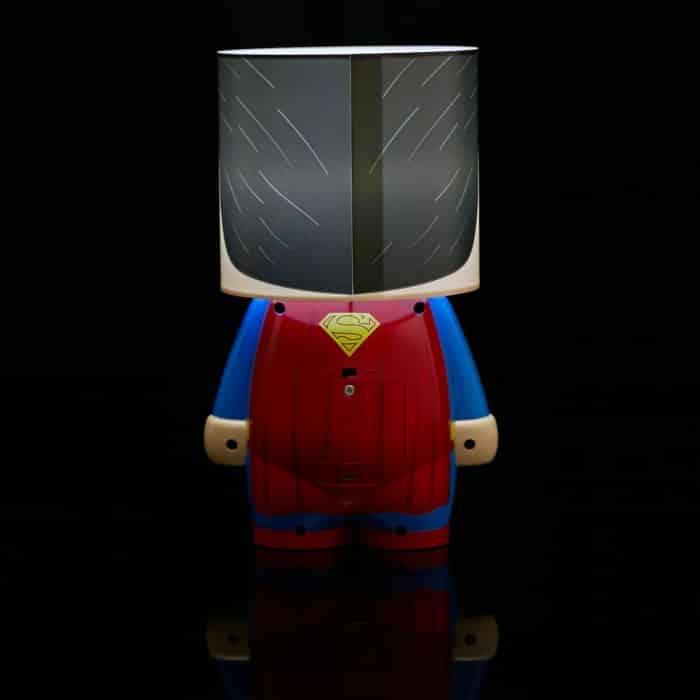 lampe ambiance superman geek dc comics super insolite. Black Bedroom Furniture Sets. Home Design Ideas