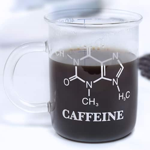 mug chimie mol cule de caf ine super insolite. Black Bedroom Furniture Sets. Home Design Ideas