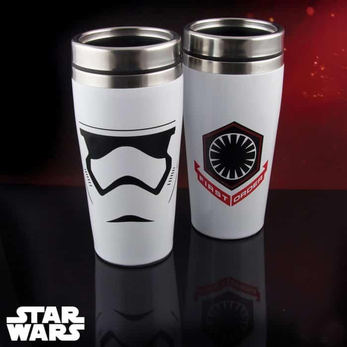 mug voyage thermos stormtrooper star wars 7 super insolite. Black Bedroom Furniture Sets. Home Design Ideas
