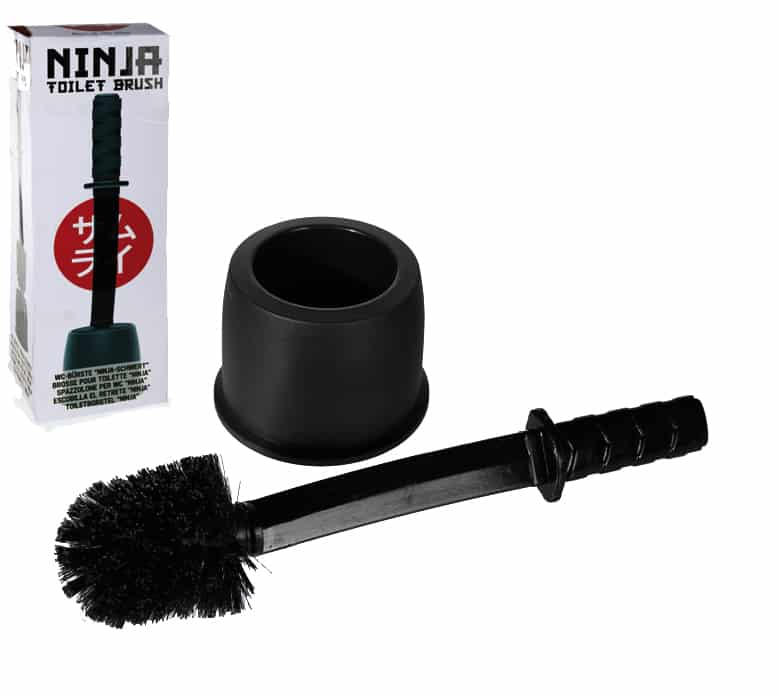 brosse de toilette sabre samourai ninja super insolite. Black Bedroom Furniture Sets. Home Design Ideas