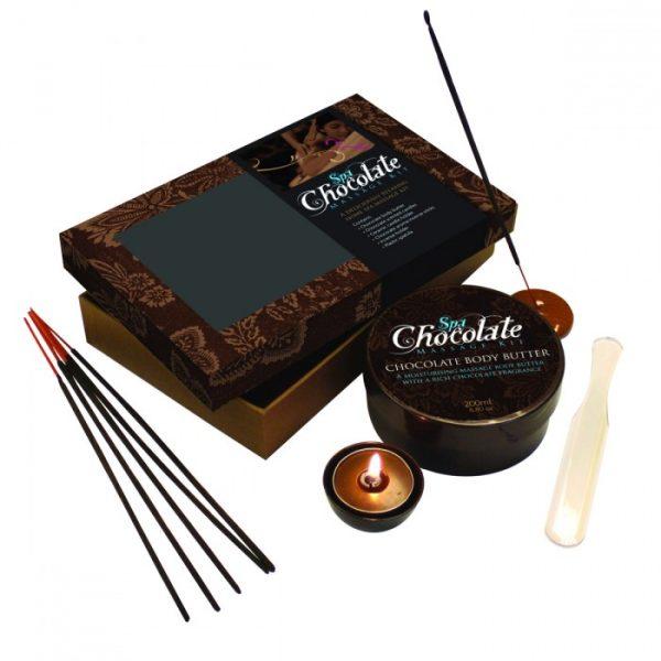 Coffret Massage Chocolat