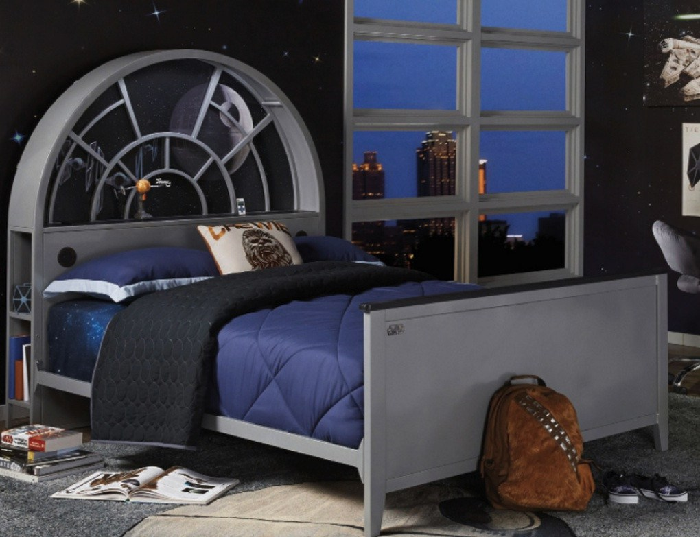 les meubles star wars d barquent super insolite. Black Bedroom Furniture Sets. Home Design Ideas