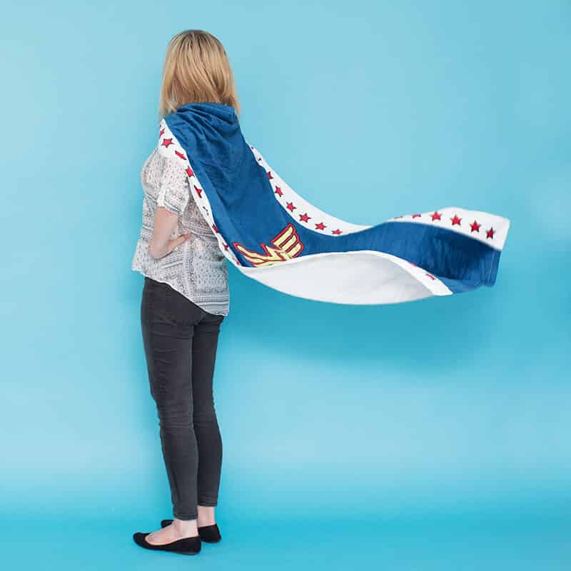 Serviette Cape Wonder Woman