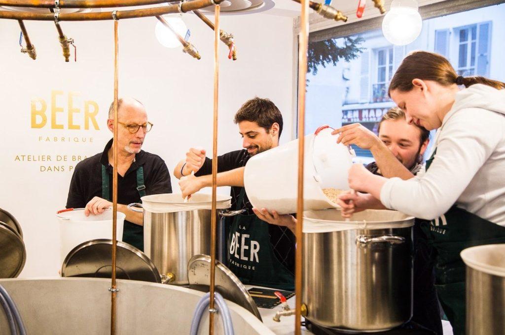 atelier brassage biere paris