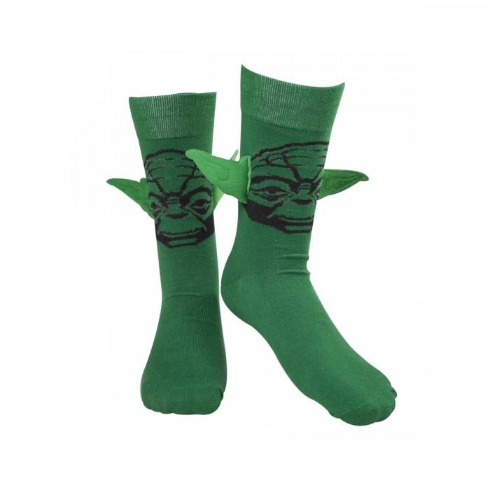 chaussettes yoda avec oreilles star wars super insolite. Black Bedroom Furniture Sets. Home Design Ideas