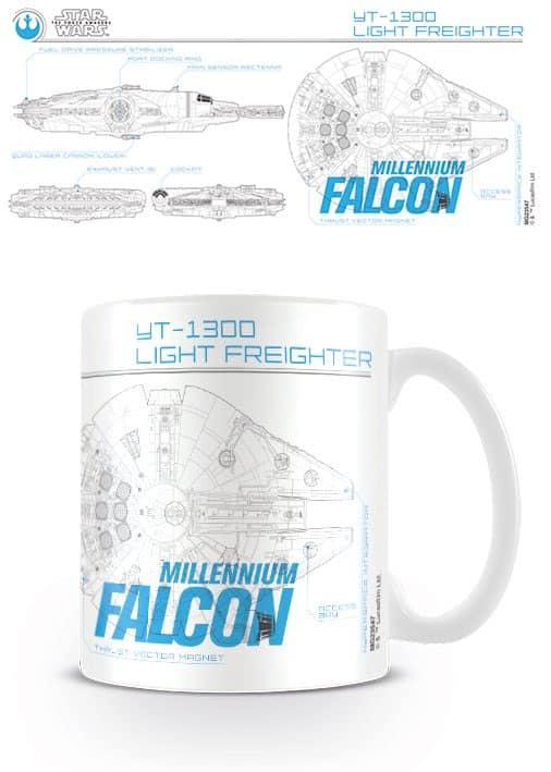 Mug plans Faucon Millenium