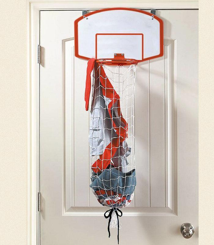 panier linge sale basketball super insolite. Black Bedroom Furniture Sets. Home Design Ideas