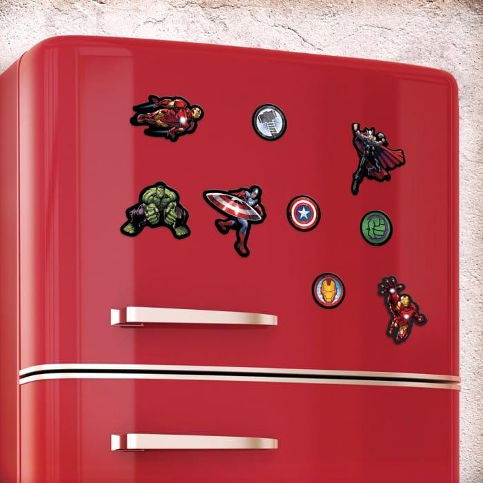 magnets super h ros marvel avengers super insolite. Black Bedroom Furniture Sets. Home Design Ideas