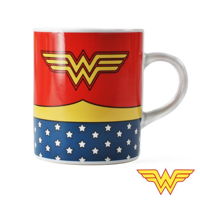 tasse mug expresso wonder woman super insolite. Black Bedroom Furniture Sets. Home Design Ideas