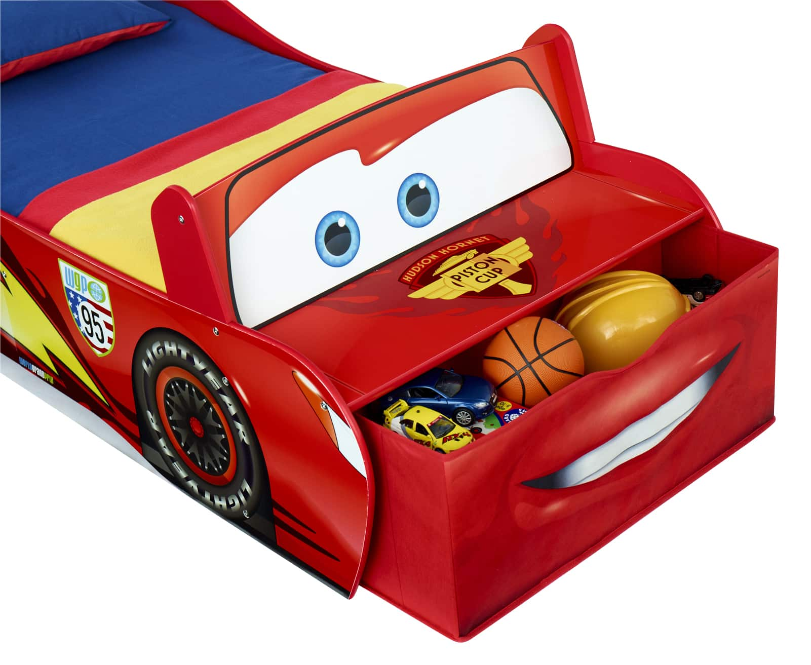 lit enfant cars lit enfant en bois cars flash mcqueen 865189 achat rangement pour lit cars. Black Bedroom Furniture Sets. Home Design Ideas