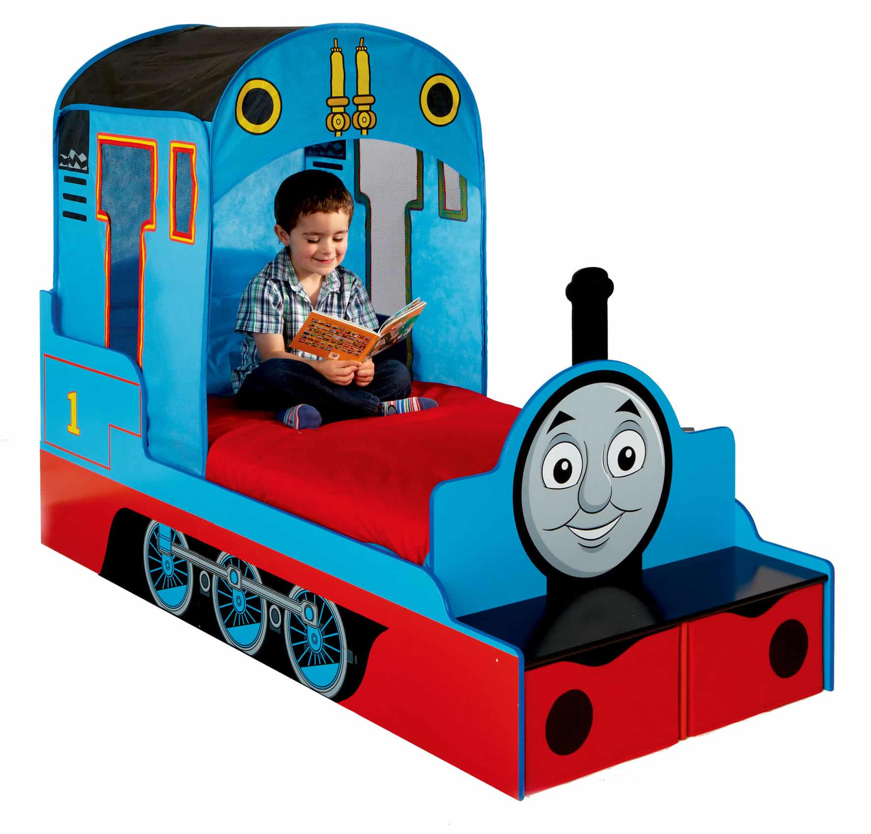 lit enfant le train thomas super insolite. Black Bedroom Furniture Sets. Home Design Ideas